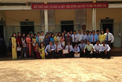 Đội Ngủ GV CNV Trường THCS Tô Vĩnh Diện