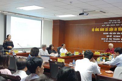 Chúc mừng Nghiên cứu sinh Lê Thị Thanh Xuânbảo vệ thành công Luận án tiến sĩ